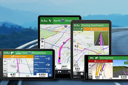 """Garmin Dezl™ OTR Series Truck Navigators – from 5.5"""" to the extra-large 10"""""""
